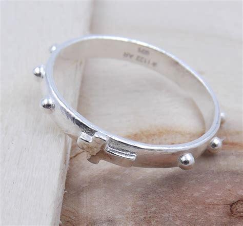 Verlobungsring Frau Silber by Ring F 252 R Frau Aus 925 Silber Verlobungsring Rosenkranz