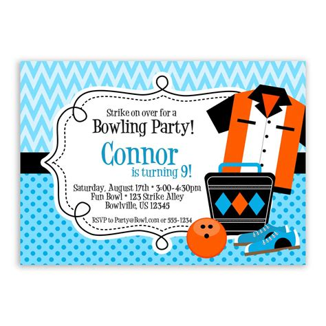 bowling party invitations party invitations templates