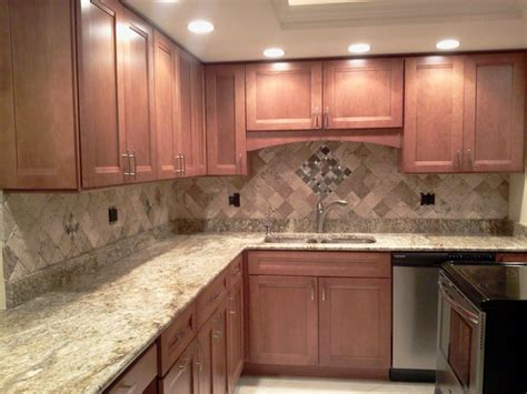Pictures Of Backsplashes In Kitchen by Custom Kitchen Backsplash Countertop And Flooring Tile