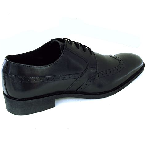 Comfortable Wingtips by Mens Wing Tip Oxfords Lace Up Leather Comfort Brogue