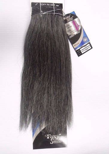 secret extensions in salt and pepper color 12 quot salt n pepper human hair straight weave track grey