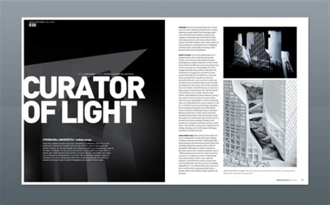 mag layout inspiration magazine layouts digital artist guide