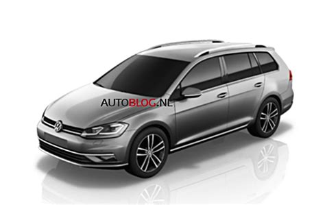 volkswagen wagon 2017 2017 volkswagen golf facelift to debut quot early november