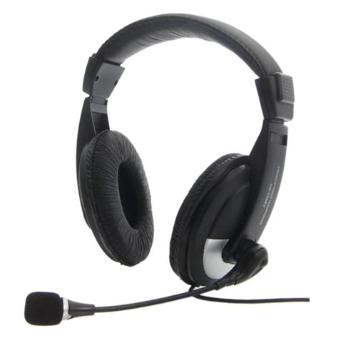 computer microphone sm 750 headphone headset with microphone for computer pc