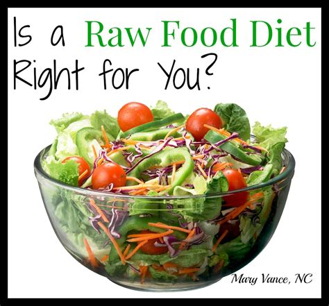 food for is a food diet right for you vance nc