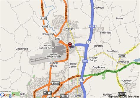 london gatwick airport location map gatwick airport map newhairstylesformen2014 com