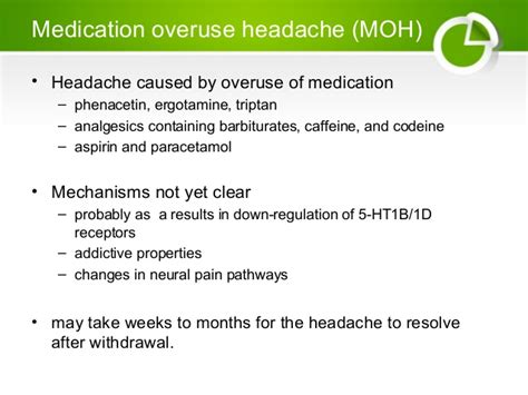 Medication Overuse Headache Detox headache hkl