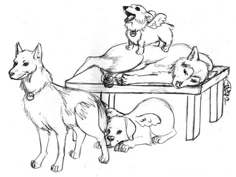 coloring pages of husky puppies husky puppy coloring pages
