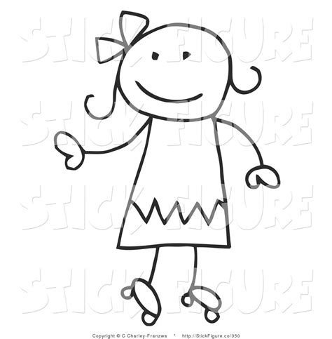 small stick figure on my clipart stick figure pencil and in color