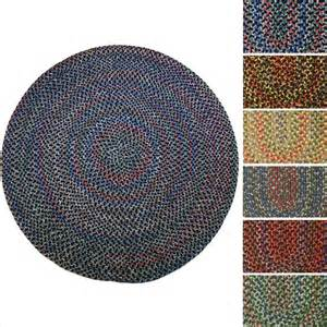 Circular Outdoor Rug Rhody Rug Indoor Outdoor Reversible Braided Rug 6 Ebay