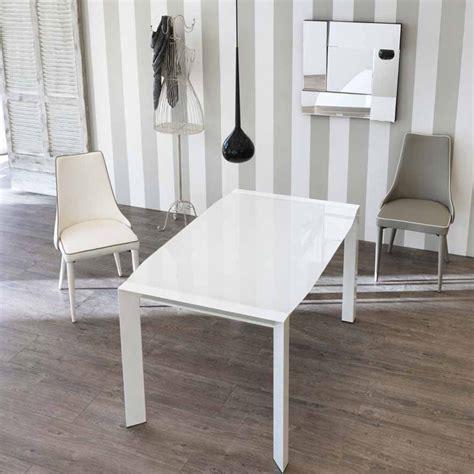 tavolo in vetro moderno tavolo allungabile design moderno con top in vetro zeno