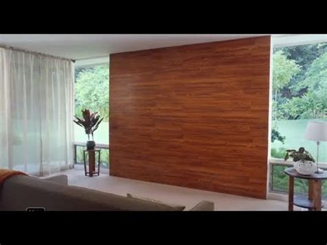 decora una pared  piso laminado youtube