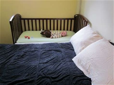 Co Sleeper For 1 Year by Confessions Of A Co Sleeper How To Sidecar Your Crib
