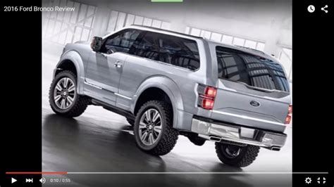 bronco car 2016 2016 ford bronco rumors release date to be announced
