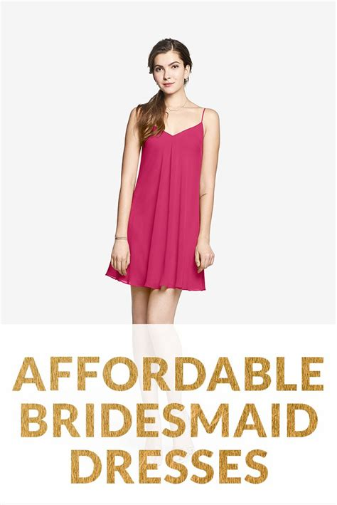 Affordable Bridesmaid Dresses by 1000 Ideas About Affordable Bridesmaid Dresses On