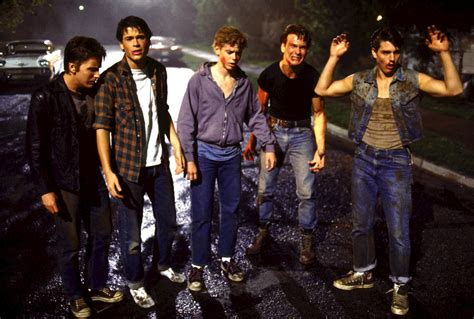 film tom cruise patrick swayze pin the outsiders 1983 movie and pictures on pinterest