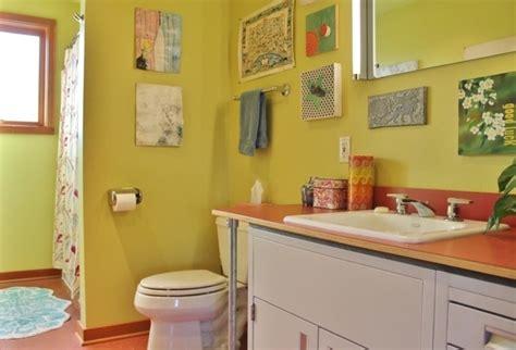 Badezimmer Farbig Gestalten by Bad Neu Gestalten Farbe Ins Badezimmer Bringen