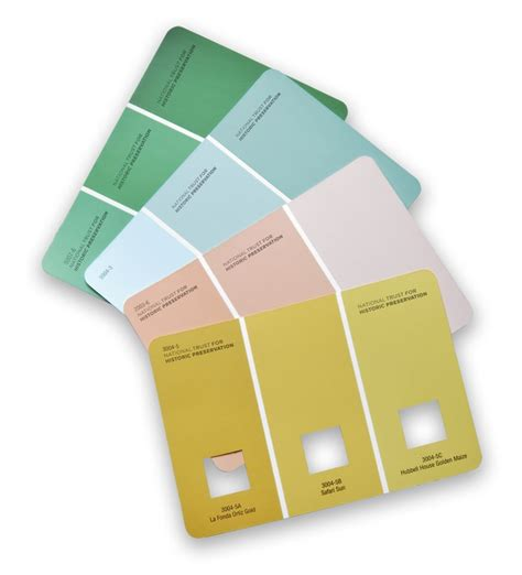 national trust for historic preservation colors for the