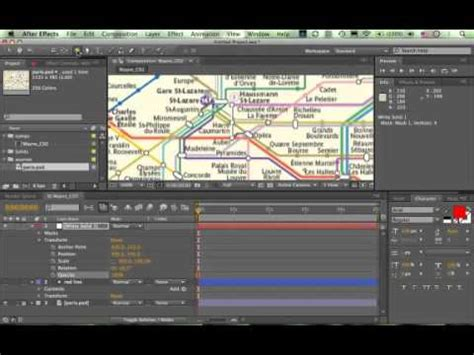 tutorial after effects path drawing a line in after effects using trim paths youtube