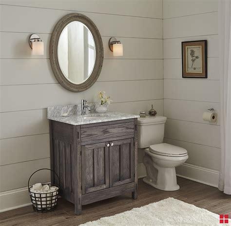 DIY Varathane Weathered Wood Accelerator Bathroom Vanity