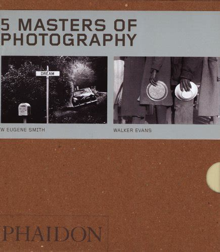 josef sudek phaidon 55s 0714841684 five masters of photography box set of 5 55 series by editors of phaidon press