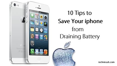iphone battery drain ultimate guide to save your iphone battery tech n track