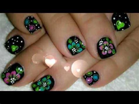 115 u 209 as con flores u 209 as decoradas nail art 5 decoracion de u as caritas youtube decorados u 209 as