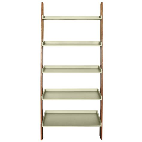 oak ladder bookcase ladder bookcase oak wilko scandinavia ladder bookcase