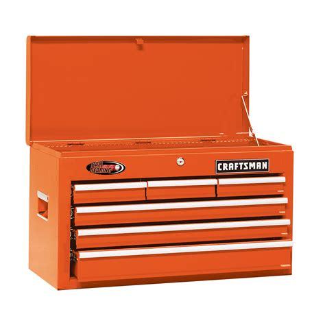 craftsman 26 in 6 drawer bearing chest sunburst