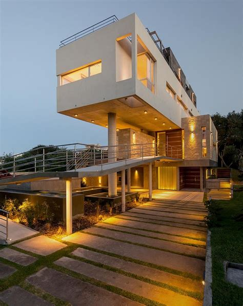 architecture house designs stunning sloping site house design with inspiring house