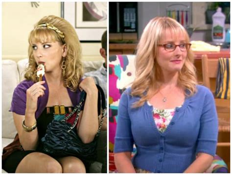melissa rauch before and after the big bang theory cast before they were stars page 2