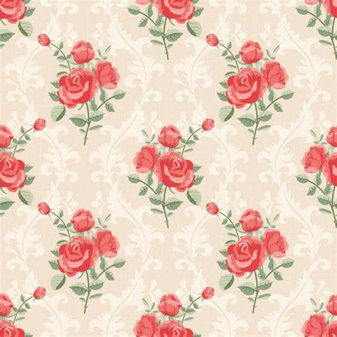 papel de parede floral rosas vermelhas arabesco 011 papeldecor br papel de parede para - Papel Mural Flores Peque 241 As Con Fondo Verde Xv Papel Mural Fondos Verdes Y Murales
