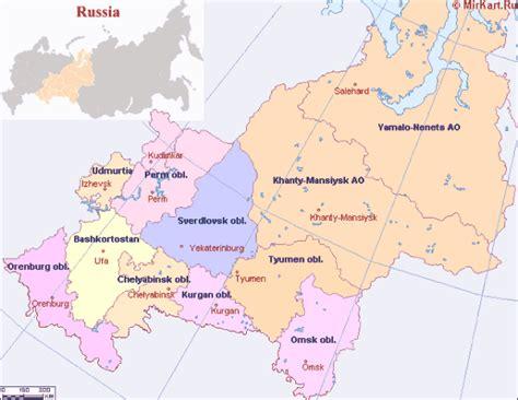 yekaterinburg map maps of yekaterinburg