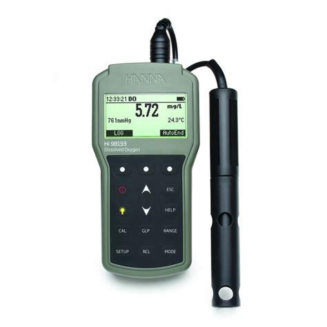 Oxygen Meter dissolved oxygen meter waterproof portable hannanorden