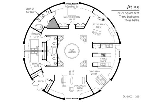 monolithic dome house plans atlas series monolithic dome institute