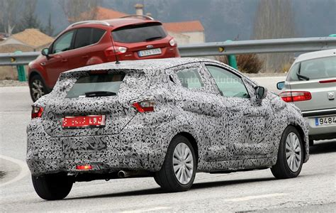 nissan new 2017 2017 nissan micra spied in spain autoevolution