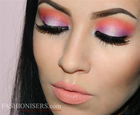 spring makeup tutorial xojennydey bright spring makeup tutorial fashionisers