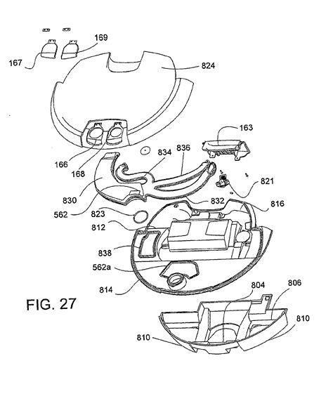 roomba parts diagram patent ep2279686b1 autonomous surface cleaning robot for