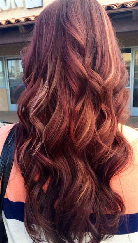 mahogany colored hair 12 mahogany hair color highlights for brunettes