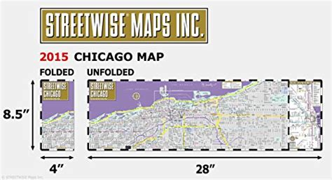 streetwise chicago map laminated city center map of chicago illinois michelin streetwise maps books streetwise chicago map laminated city center map