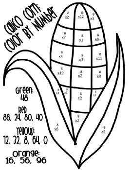 thanksgiving coloring page math 63 best images about math on pinterest