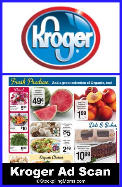 kroger food kroger grocery store ad scan 5 28 6 3
