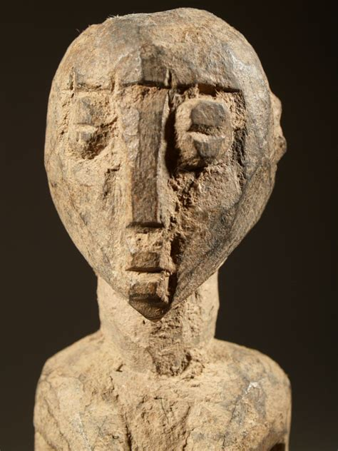 art  afrique cote divoire burkina faso statue lobi