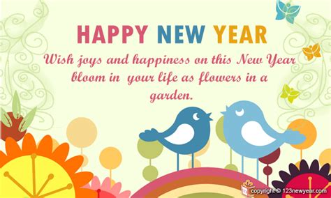 new year card message best happy new year wishes and quotes 2016