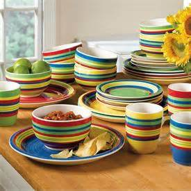brylane home sante fe collection dish set giveaway