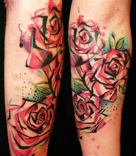 abstract rose tattoo best 25 abstract flower tattoos ideas on