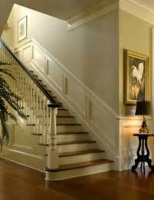 nice moldings accentuate interior traditional staircase charleston by christopher a rose