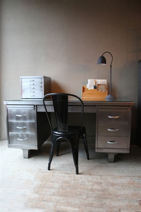 retro home office desk industrial vintage home office furniture my warehouse home