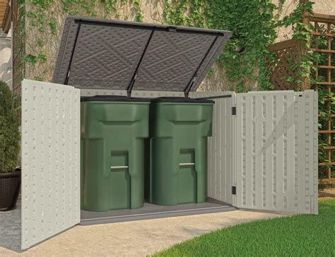 Horizontal Storage Shed Plans by Home Depot Pre Made Sheds Garbage Can Storage Shed Sears