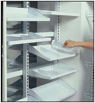 madix pharmacy shelves dividers